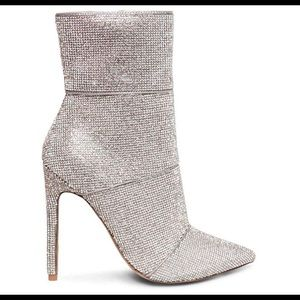 New Steve Madden Rhinestone SparklingHoliday Boots